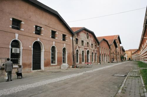 Venice Arsenale storehouses (2009)