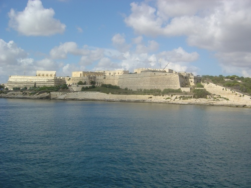 Fort Manoel in Marsamxett harbour, built 1723–55. Image by J. D. Davies.