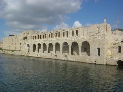 Fort Manoel in Marsamxett harbour, built 1723–55. Image by J. D. Davies.