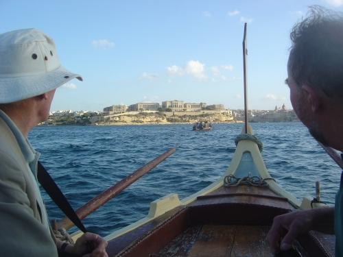 NDS Dghajsa tour of Valletta Harbour. J. D. Davies.