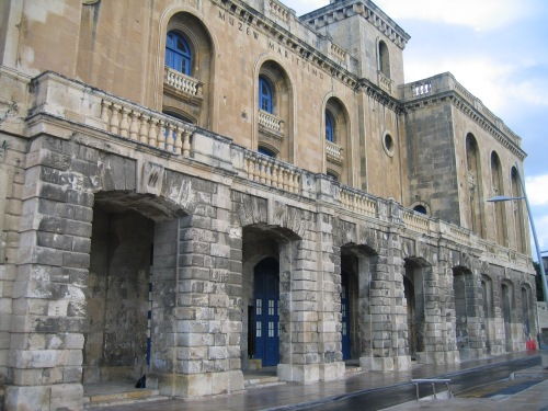 Malta Maritime Museum, within the Old Naval Bakery in Vittoriosa, 2007