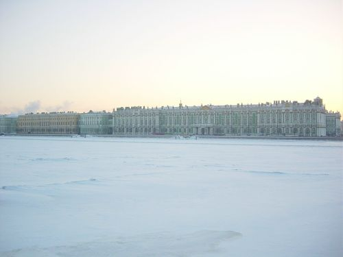 Hermitage Museum (formerly the Winter Palace). Image by J. D. Davies.