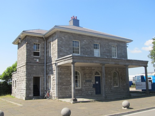 Dockyard guardhouse. Image by J. D. Davies.