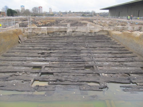 Timber slipways. J. D. Davies.