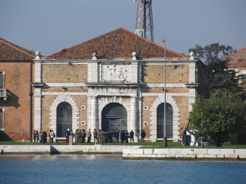 Venice Arsenale. Image by J. D. Davies.