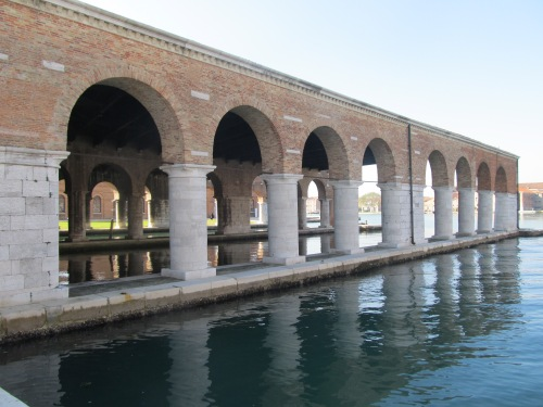 Gaggiandre wet dock. Image by J. D. Davies.